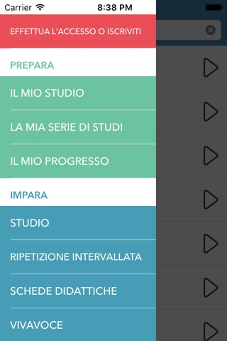 Italian | Spanish - AccelaStudy® screenshot 1