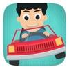 子供と幼児のおもちゃの車 - 車の運転、洗車、ゲーム現実の世界が見えるように小さな子供たちドライバの駆動車の力学、相互作用し、学びます