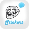 Funny Rages Faces - Stickers for WhatsApp, Viber, Telegram, Tango & Messengers Pro rage 2