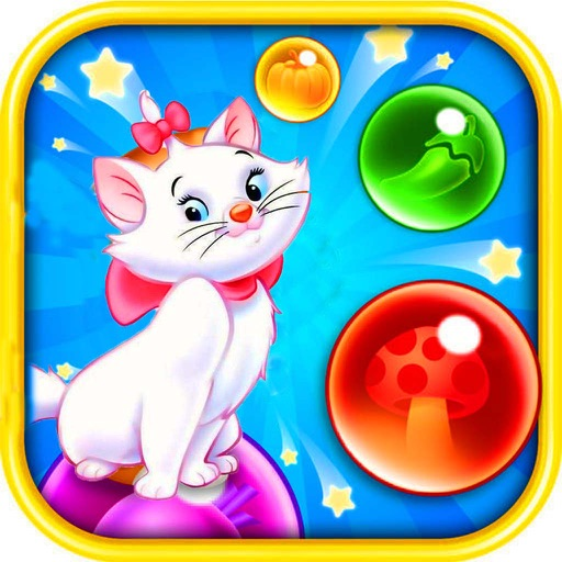 Marrie Cat Bubble Shooter iOS App