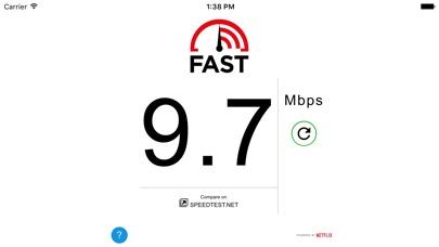 FAST Speed TestCapture d'écran de 2