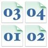 Sequenzetto folder marker 1 3