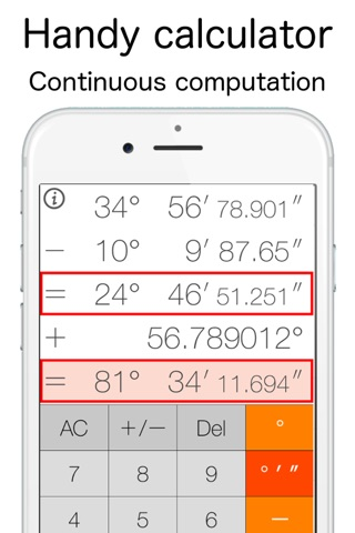 AngleCalculator screenshot 2
