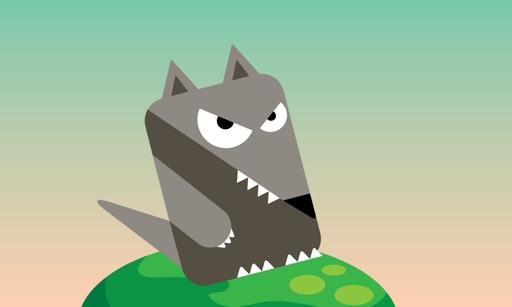 Blocky Rabbit Jumping - Wolf Challenge iOS App