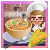 Corn Soup Maker – Bake delicious food in this cooking mania game