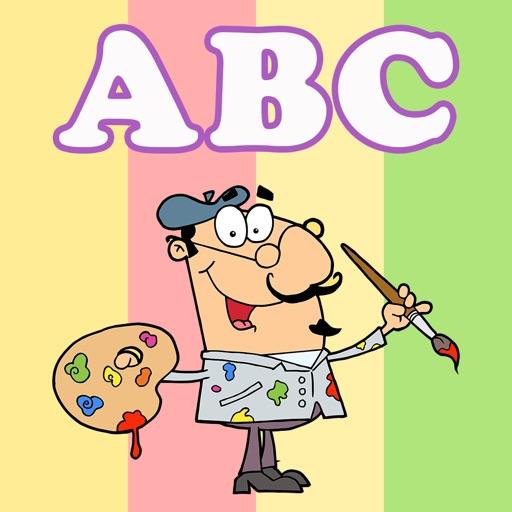 Kleurplaten Van Engels.Kleurplaat Alfabet Abc Kinderspelletjes Kleurplaten Voor Kinderen