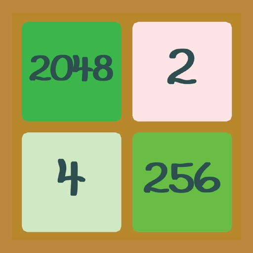 Color 2048 - The hardest ever and free super casual 2048 styled casual puzzle game iOS App