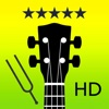 Ukulele Tuner Pro - Instant tuning with precision and ease! With chord library and tuning fork!
