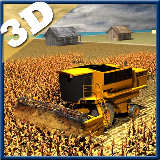 Farming harvester Simulator 3d iOS App