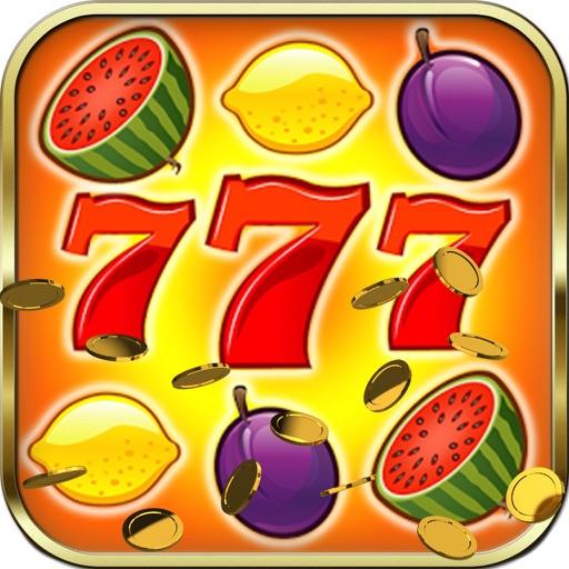 Fruit Slots Classic - Lucky 5 Card Poker Casino Slot Machine with Mega Bonus iOS App