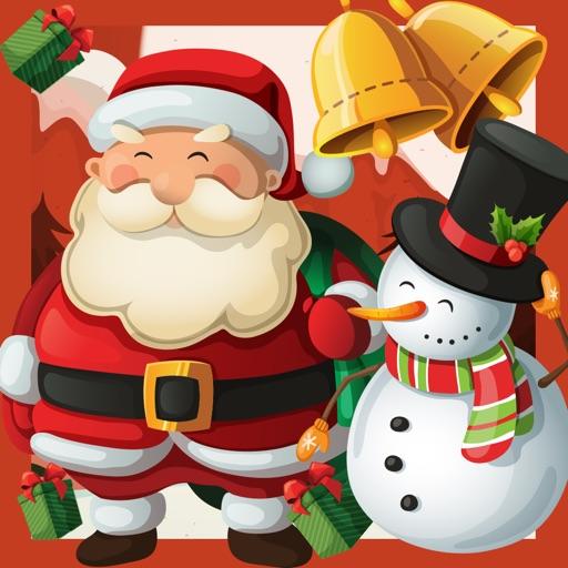 Un Jeu de Noël Enfants Avec le Père Noël, Bonhomme de Neige et des Cadeaux Gratuitement: Apprendre Fun