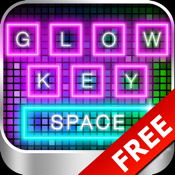 Glow Keyboard FREE - Customize & Theme Your Keyboards icon