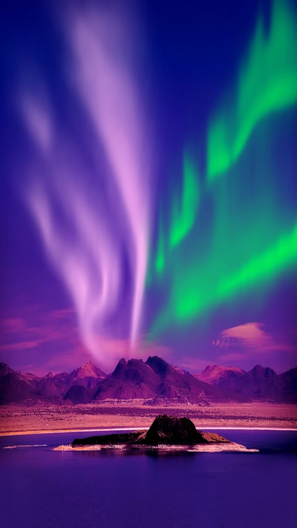 Aurora Borealis Wallpaper Northern