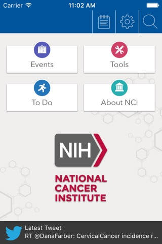 NCI @ NIH Summer Internship Program screenshot 2