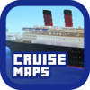 Cruise & Ship Maps for Minecraft PE - Best Map Downloads for Pocket Edition Pro
