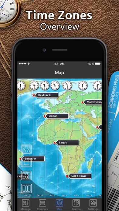 世界時計 screenshot1