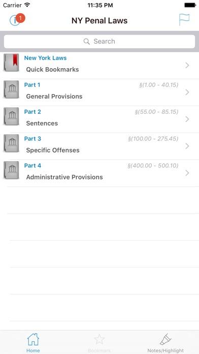 NY Penal Laws (New York Statutes) PENScreenshot of 1