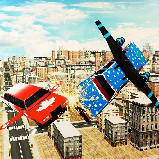 Futuristic Flying Country Car iOS App