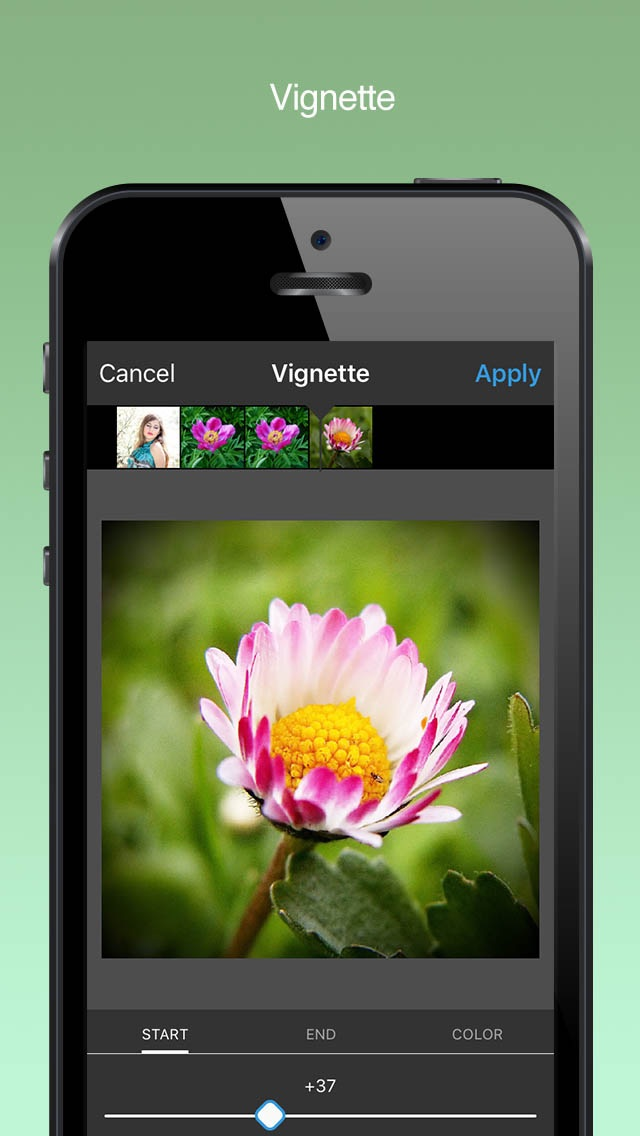 how to make every colour black and white app