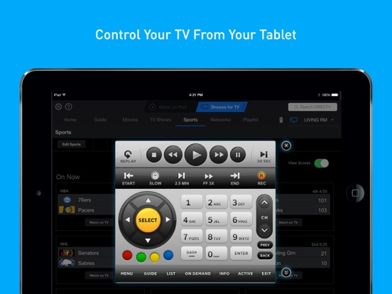 Screenshot #5 for DIRECTV App for iPad