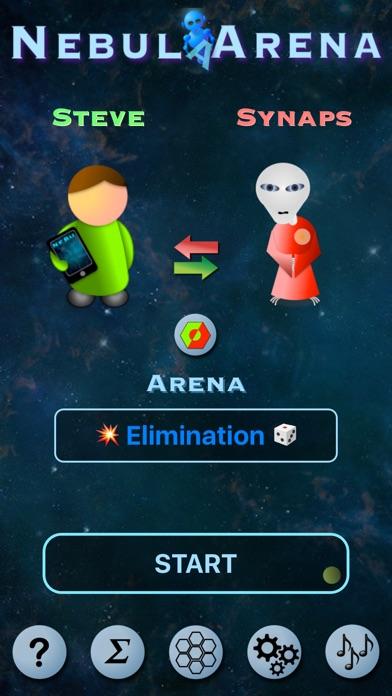 NebulArena: A new interstellar twist on classic 2 player strategy board game concepts Screenshot