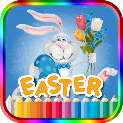 Kids Coloring Book Easter iOS App