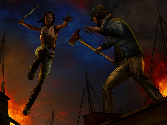 The Walking Dead: Michonne - A Telltale Miniseries на iPad