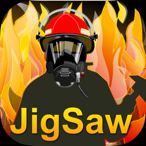 Fireman Jigsaw Puzzles - Preschool Education Games Free iOS App
