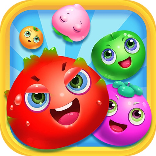 Fruits Crush Match Jewel Classic iOS App