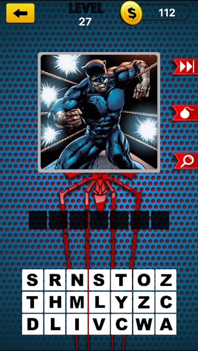 comic super hero trivia quiz 2 guess your superheros and super villains app download android apk. Black Bedroom Furniture Sets. Home Design Ideas
