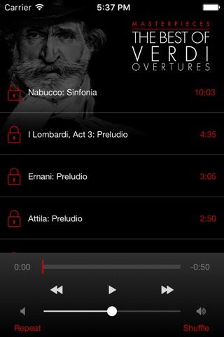 Verdi: Overtures screenshot 3