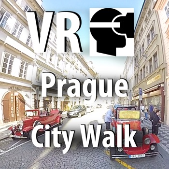 VR Prague City Walk - Virtual Reality 360 for iPhone