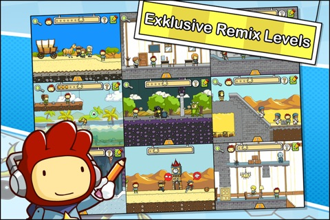 Scribblenauts Remix screenshot 2