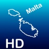 Aqua Map Malta HD - Marine GPS Offline Nautical Charts for Traveling Boating Fishing and Sailing