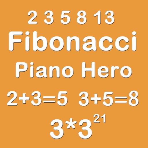 Piano Hero Fibonacci 3X3 - Sliding Number Block iOS App
