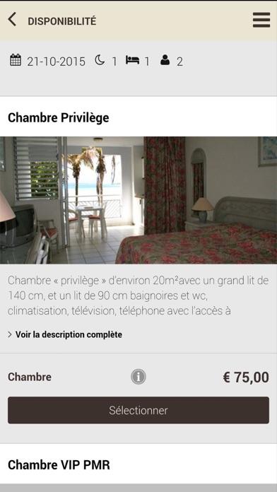 Karaibes Hotel - GuadeloupeCapture d'écran de 4