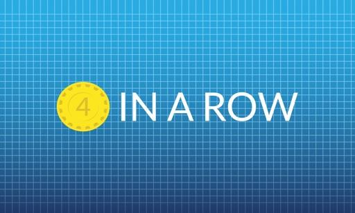 Four in a Row - Multiplayer + Single Player iOS App