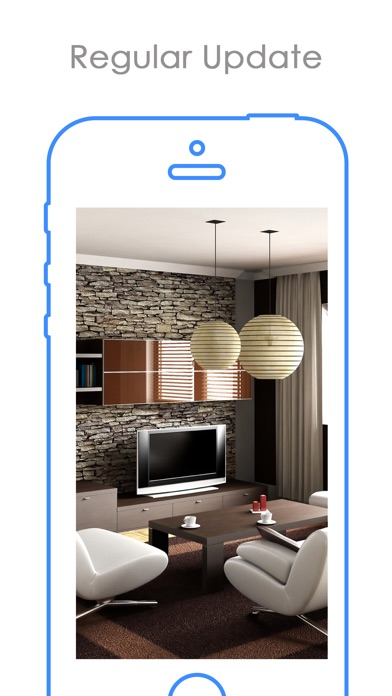 iPhone Screenshot 3. Home Styler Interior Design   Free Interior Styler on the App Store