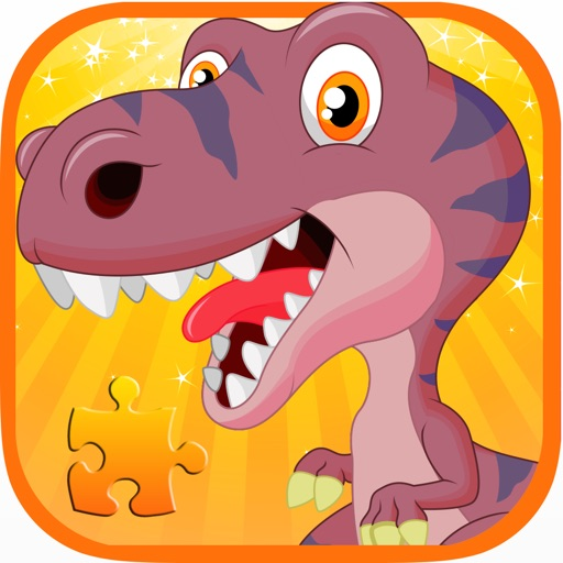 Kids Dinosaur Game:Toddlers Boys Dino Puzzle Free iOS App