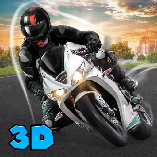 Real Moto Bike Driving 3D Full iOS App