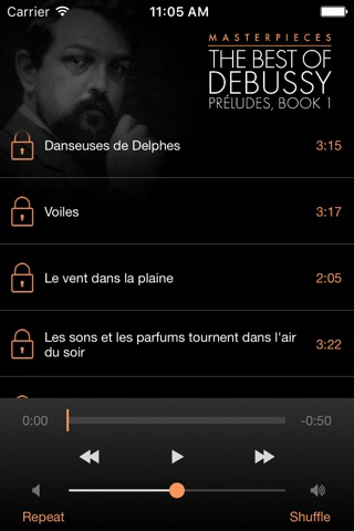 Debussy: Préludes, Book 1 screenshot 3