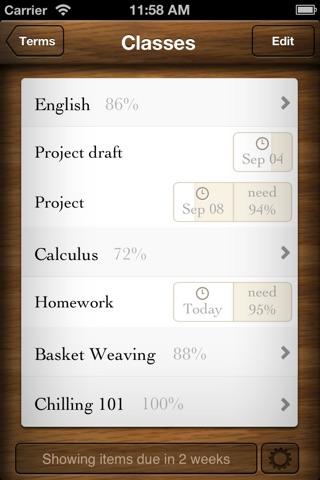Grades 3 screenshot 1