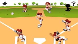 Screenshot of Una Partita di Baseball For Baby & Kids: Colouring Book & Puzzle Difficile Per i Bambini di Età da4