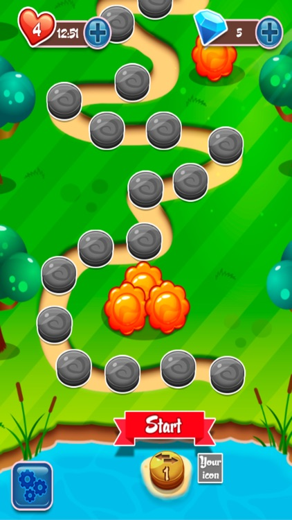 Sweet Fruit Jelly Garden Saga Match 3 Free Game by Thanagorn