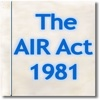 The Air (Prevention and Control of Pollution) Act 1981