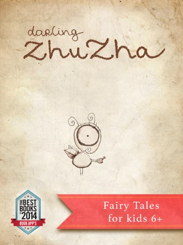 Darling Zhuzha-4. Interactive Animated Fairy Tales / Book for Kid 6+ screenshot 1