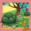 Gli Animali Dei Giochi Foresta Bambini di Imparare Ordinamento e Pensiero Logico