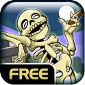 Slender Skeletons Free - Balloon Float And Pop Physics Game icon