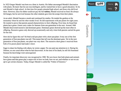 Nonfiction Reading Grade 4 with Class Responder screenshot 3