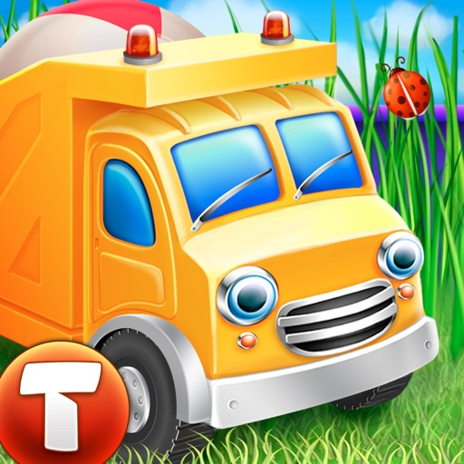 Cars in sandbox: Construction (Thematica - educational and fun apps for kids and little toddlers about vehicles and technic machines)